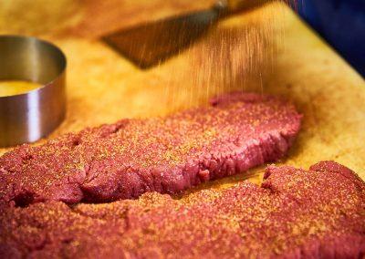 Fleischzubereitung